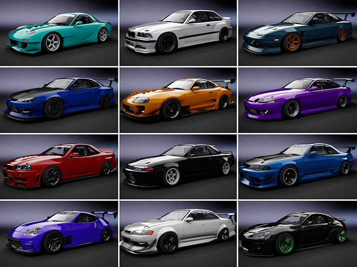World Drift Tour Car Pack